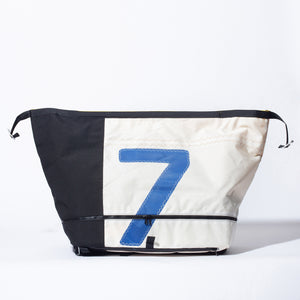 Upcycled Sails Travel Backpack - Large - ARTICHOKE BAGS