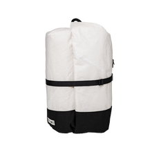 Load image into Gallery viewer, Classic White Travel Backpack - Medium - ARTICHOKE BAGS