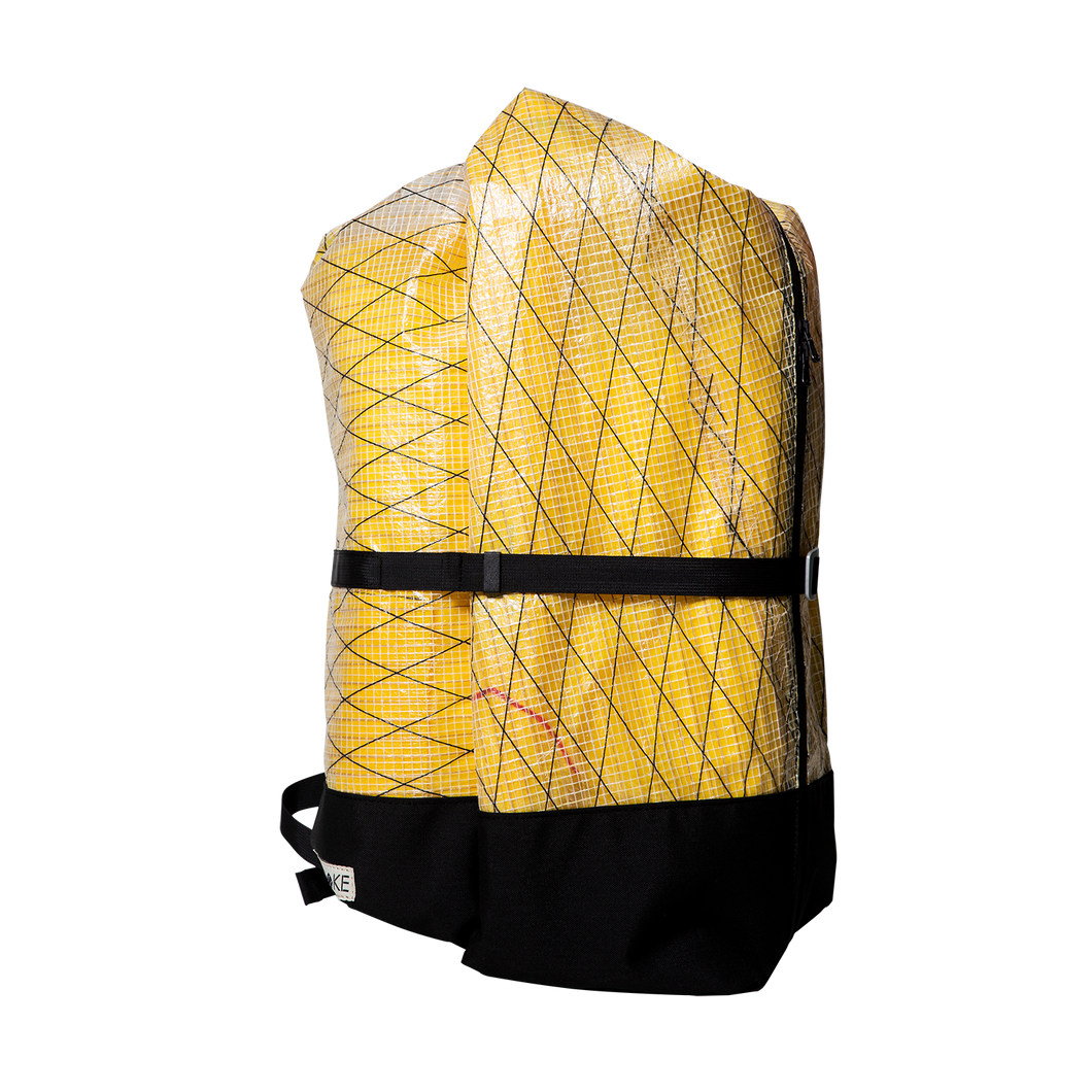 Upcycled Sails Travel Backpack - Medium - Artichoke Bags