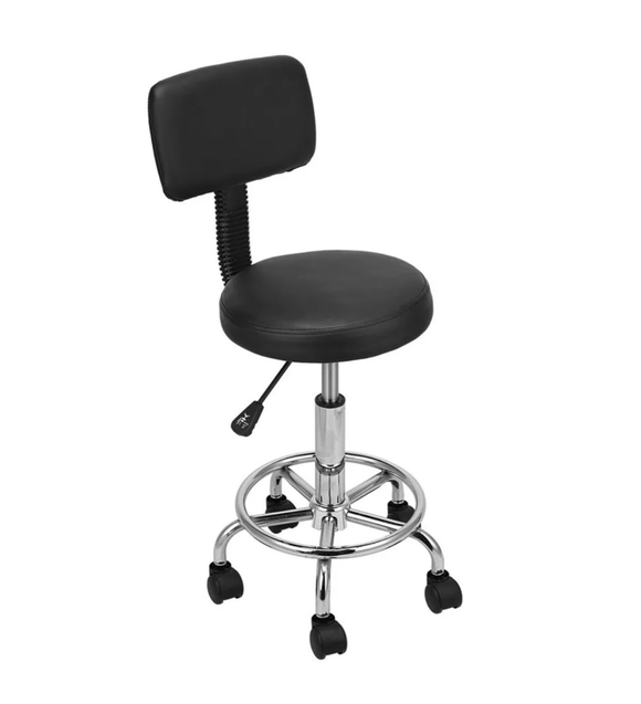Lash Extension Chair (Ergonomic) - Black