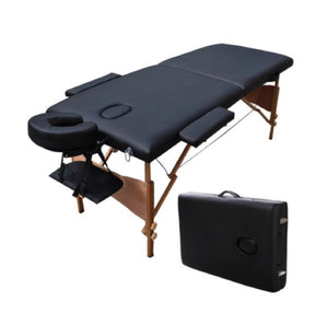 Lash Extension Bed/Table (portable) - Black, Pink