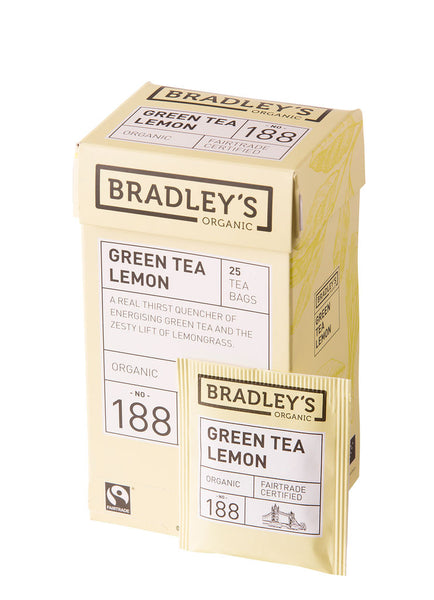 Bradley's Green Tea Lemon
