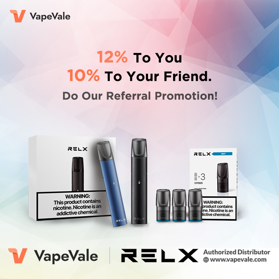best VapeVale coupon: 12% off coupon through referral program