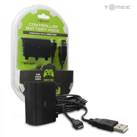 Tomee Xbox One Controller Battery Pack with Charge Cable