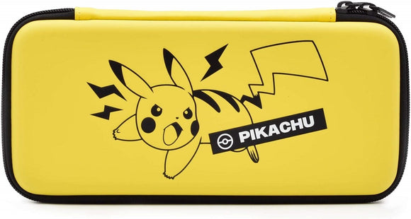 Hori Pikachu Emboss Protective Case Hard Pouch for Nintendo Switch Game Console