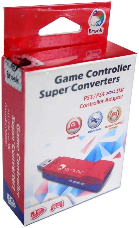Brook Super SW Converter for PS3 PS4 to Nintendo Switch Controller Adapter