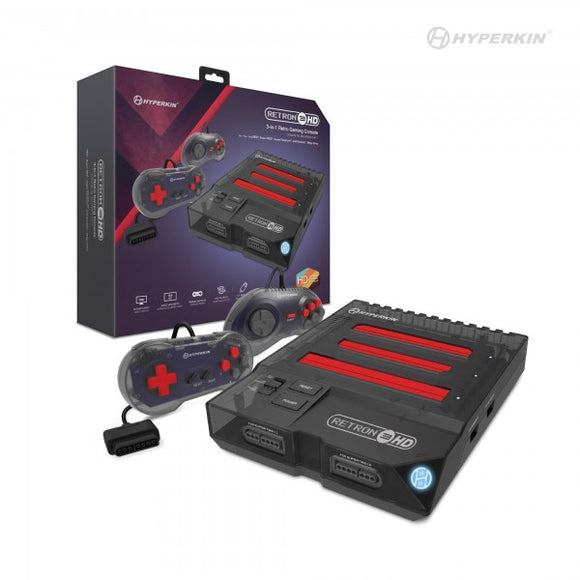RetroN 3 HD 3-in-1 Retro Gaming Console for NES®, Super NES® / Super Famicom™, and Genesis®/Mega Drive