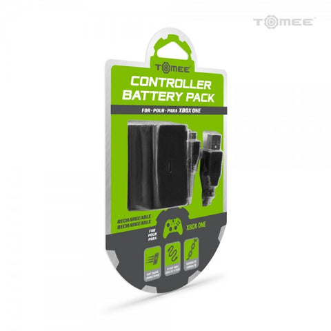 Tomee Controller Battery Pack and Charge Cable for Xbox One