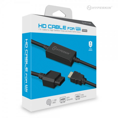 Hyperkin Wii HDMI HD Cable for Nintendo Wii Game Console
