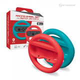 Hyperkin Racing Wheel Set for Switch Joy-Con (Blue/ Red) (2-Pack)