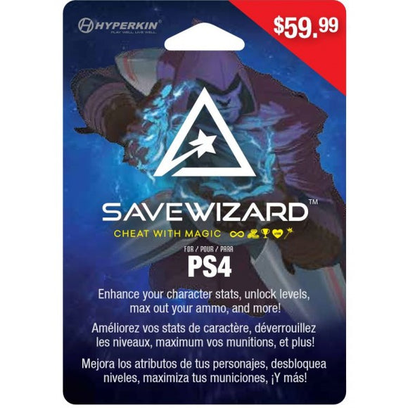 Save Wizard Save Editor for PS4 (Physical Version)