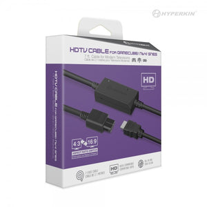 Hyperkin 3-In-1 HDTV Cable for GameCube/ N64/ Super NES