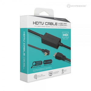 Hyperkin Slim PSP HDTV HDMI Cable Adapter for PSP 2000 and 3000 Series System