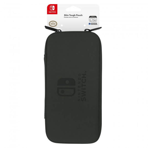 Hori Switch Lite Slim Tough Pouch Case - Black