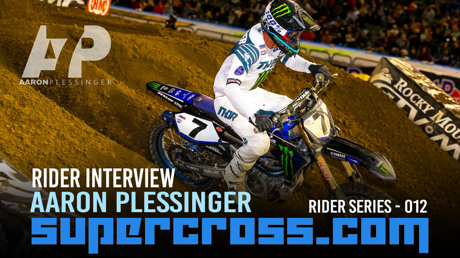 Aaron Plessinger Interview | 2020 Supercross Rider Interview