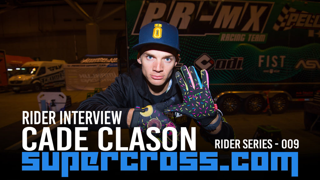 Cade Clason | 2020 Supercross Motocross Rider Interview