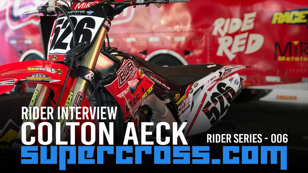 Colton Aeck | 2020 Supercross Motocross Rider Interview