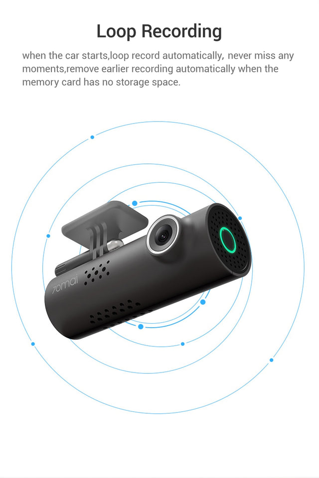 Smart Dash Cam HD 1080p - Rated Best Car Camera Recorder 2019
