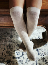 Load image into Gallery viewer, CHILDREN'S ORGANIC COTTON TIGHTS - BUFF