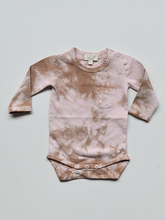 Load image into Gallery viewer, THE SIMPLE FOLK  THE TIE -  DYE ONESIE - BLUSH
