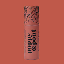 Load image into Gallery viewer, POPPY & POUT POMEGRANATE PEACH LIP BALM
