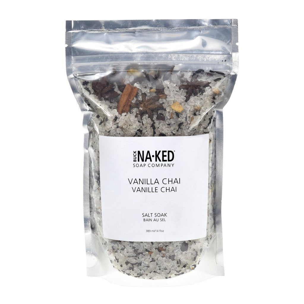 VANILLA CHAI SALT SOAK - BUCK NAKED