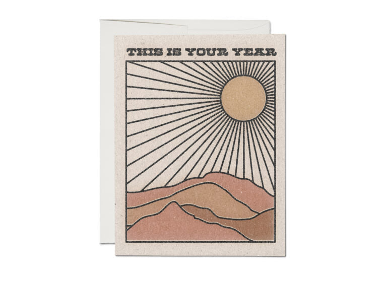 YOUR YEAR BIRTHDAY CARD