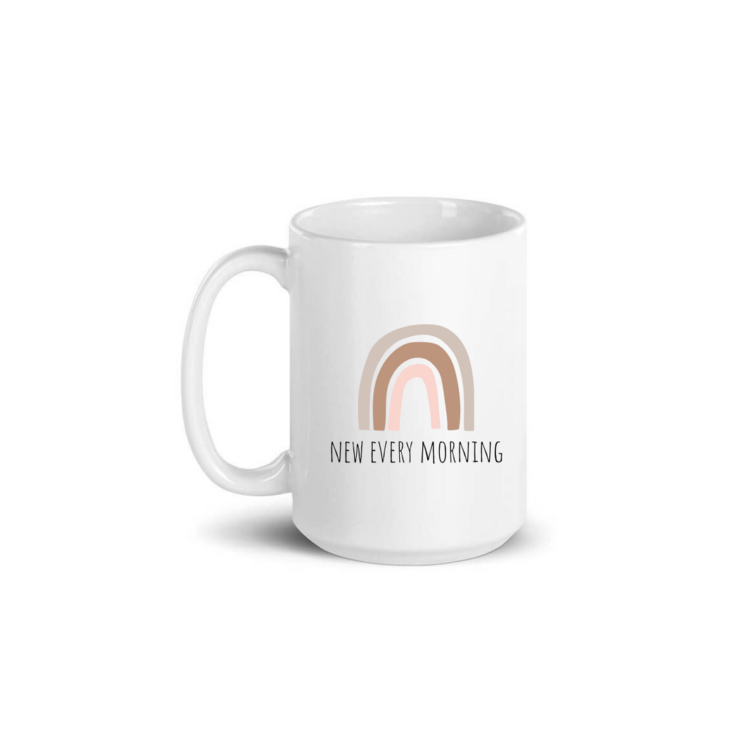 NEW EVERY MORNING MUG