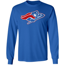 Load image into Gallery viewer, Patriots Logo (red) Special LS Ultra Cotton T-Shirt