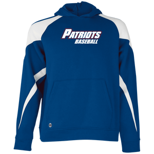 Patriots Baseball Youth Colorblock Hoodie