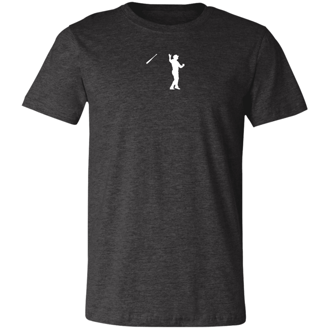 Bush League Bat Flip Tee Jersey Short-Sleeve T-Shirt