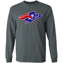 Load image into Gallery viewer, Patriots Logo (red/Blue) LS Ultra Cotton T-Shirt