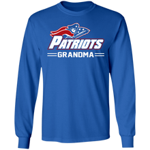 Load image into Gallery viewer, Patriots Grandma Special  LS Ultra Cotton T-Shirt
