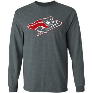 Patriots Logo (red) Special LS Ultra Cotton T-Shirt