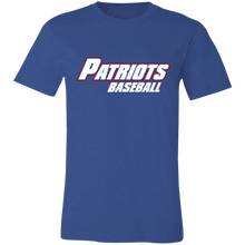 Load image into Gallery viewer, Patriots Baseball WM Logo Jersey Short-Sleeve T-Shirt
