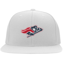 Load image into Gallery viewer, Patriot Flat Bill Twill Flexfit Cap