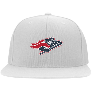 Patriot Flat Bill Twill Flexfit Cap