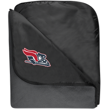 Load image into Gallery viewer, Patriot Fleece & Poly Travel Blanket