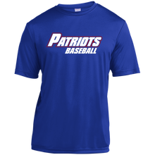 Load image into Gallery viewer, Patriots Logo WM Youth Moisture-Wicking T-Shirt