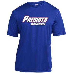 Patriots Logo WM Youth Moisture-Wicking T-Shirt