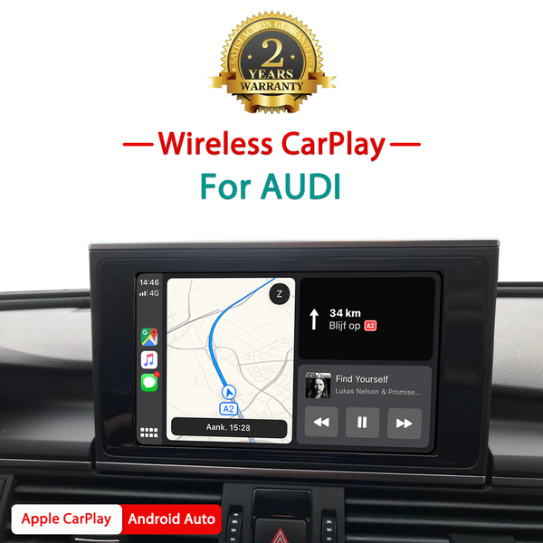 Wireless Apple CarPlay / Android auto interface box  For Audi Q2 Q3 Q5 Q7 A3 A4 A5 A6 C7 A7 A8 S5 S7
