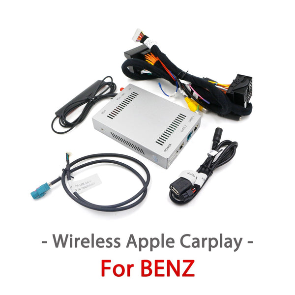Wireless Apple Carplay interface box / Android Auto  For Mercedes Benz A B C E class GLA GLC GLK GLS ML CLS 2012-2018