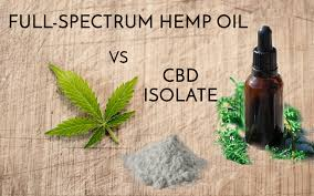 What's The Difference Between Full Spectrum and Isolate CBD's?