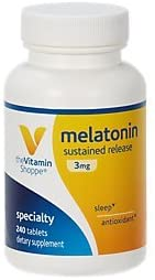 TheVitaminShoppe Melatonin 5mg - 60 Tablets