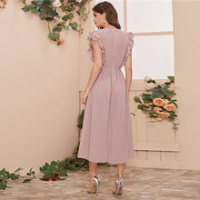 Load image into Gallery viewer, Surplice Romantic Dress