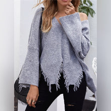 Load image into Gallery viewer, Hem Sweater Pullover