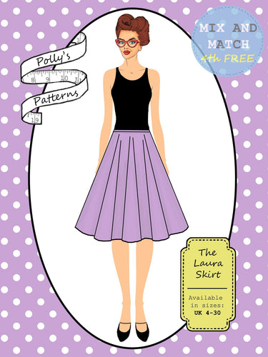 Polly's patterns - The Laura Skirt - Pattern Shop