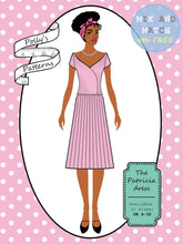 Load image into Gallery viewer, Polly's patterns - The Patricia Dress - Pattern Shop