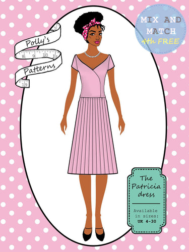 Polly's patterns - The Patricia Dress - Pattern Shop