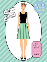 Load image into Gallery viewer, Polly's patterns - The Tiffany Skirt - Pattern Shop